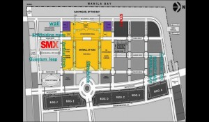 Men's Health Urbanathlon and Festival 2012 - Obstacle Map