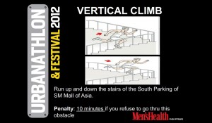 Men's Health Urbanathlon and Festival 2012 - Vertical Climb
