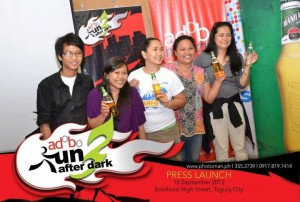 Adobo Run After Dark 3 - Manila Beer