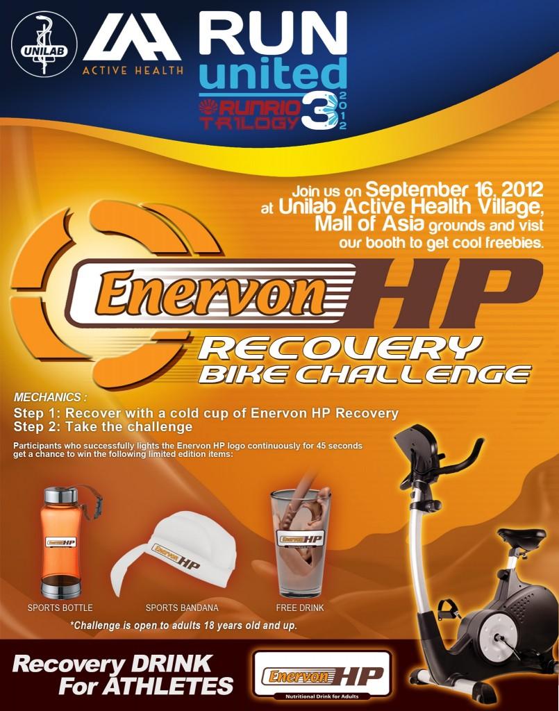 Enervon HP Recovery Bike Challenge