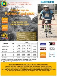 Magbike Tayo sa Kampo Aguinaldo