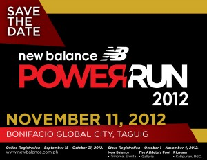 New Balance Power Run 2012
