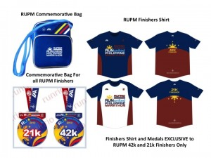 Run United Philippine Marathon - Finisher kit
