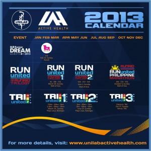 Unilab Active Health 2013 Calendar