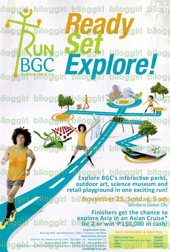 Run BGC: Ready Set Explore