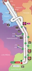 Condura Skyway Marathon - Route