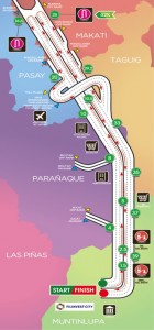 Condura Skyway Marathon - Route