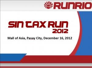Sin Tax Run 2012