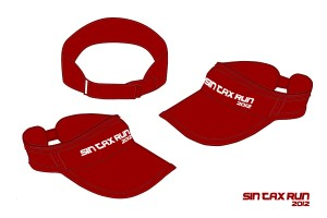 Sin Tax Run 2012 - Visor