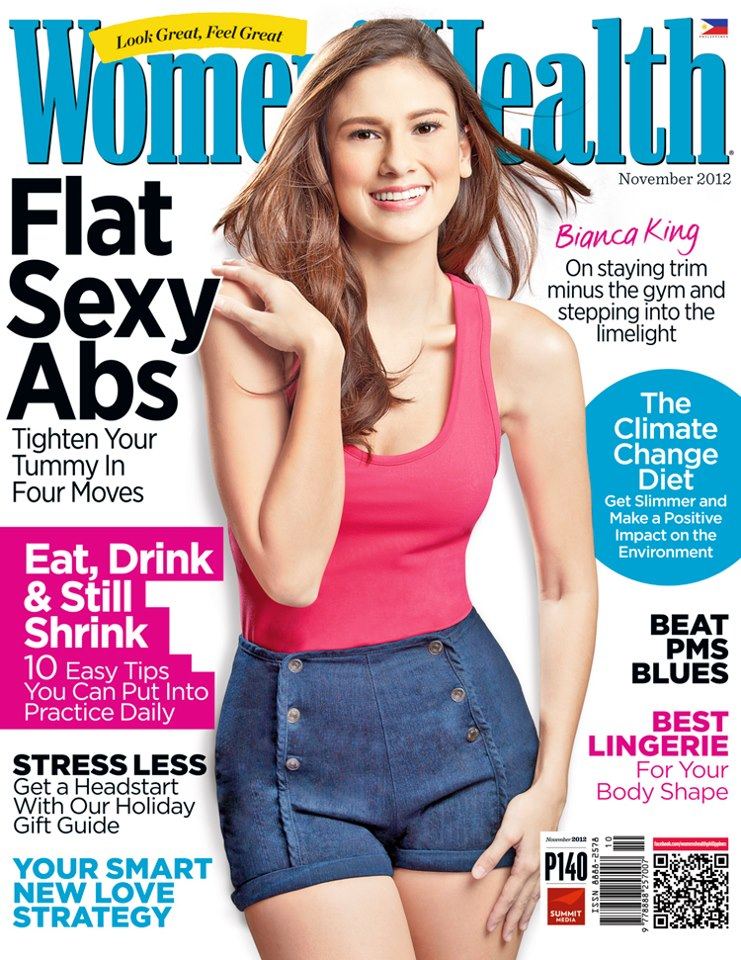 Women's Health November 2012 Cover