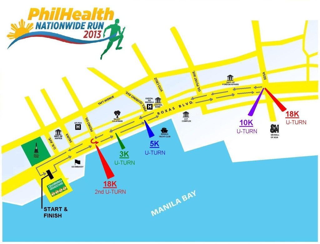 PhilHealth Nationwide Run 2013 - Manila