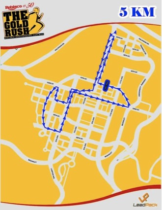 Rebisco @ 50: The Gold Rush - 5K
