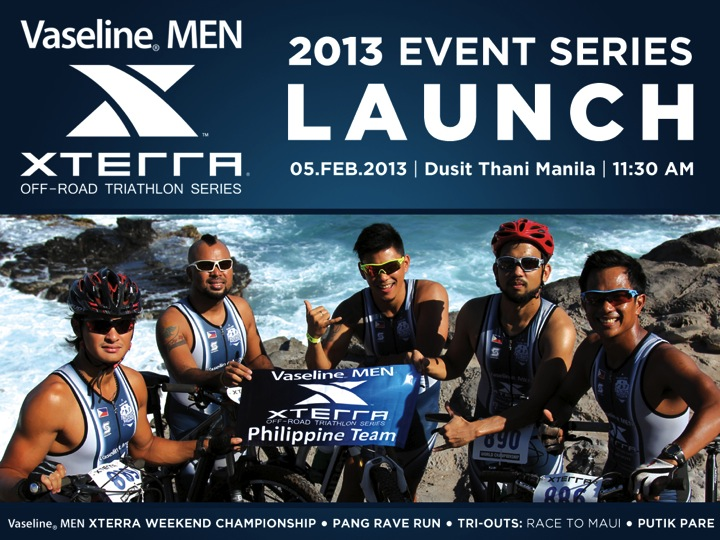 Vaseline Men XTERRA Off-Road Triathlon