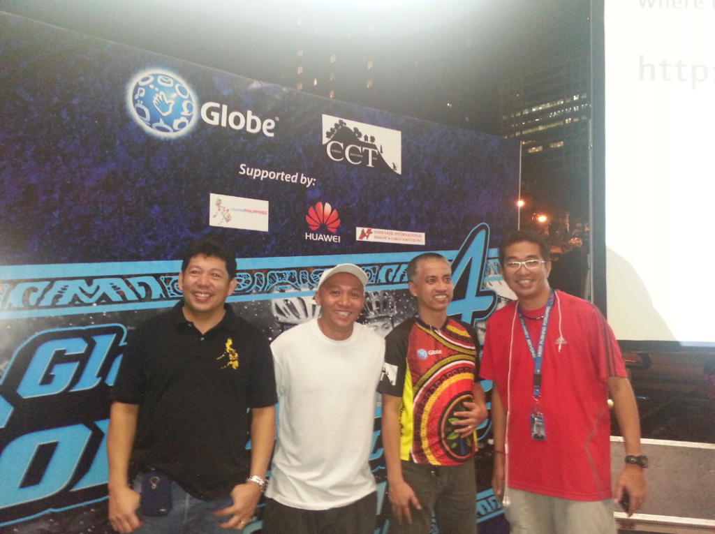 Globe Cordillera Challenge 2013 - Group shot