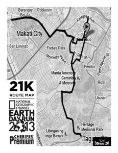 NatGeo Run 2013 - 21K