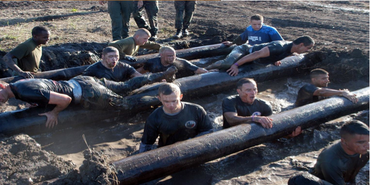 Vaseline Men Xterra Mud Run - Log Jam