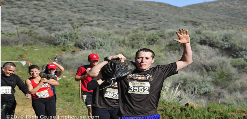 Vaseline Men Xterra Mud Run - Push or Pull (Carry Me)