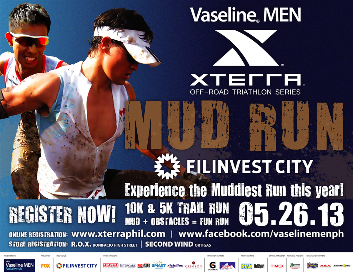 Vaseline Men Xterra Mud Run