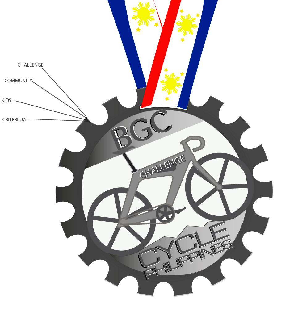 BGC Cycle Philippines - Finishers Medal