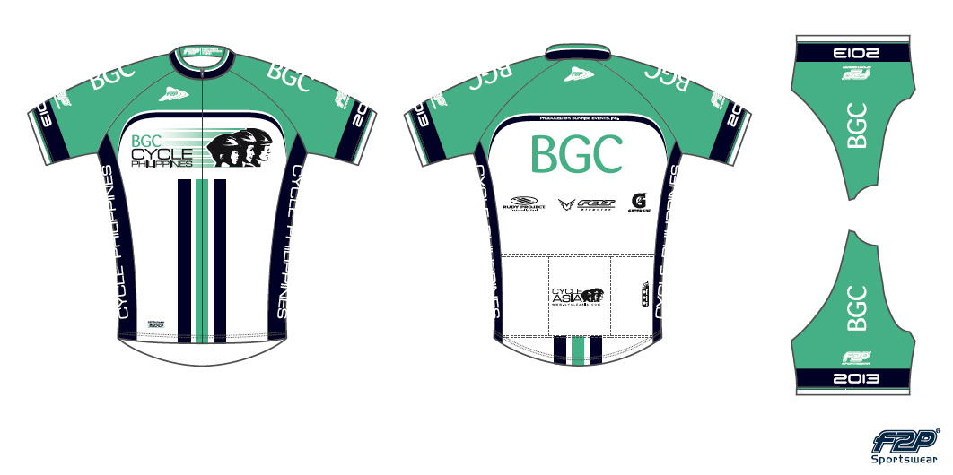 BGC Cycle Philippines Jersey