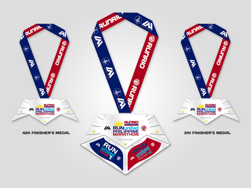 RUPM Finisher Medal