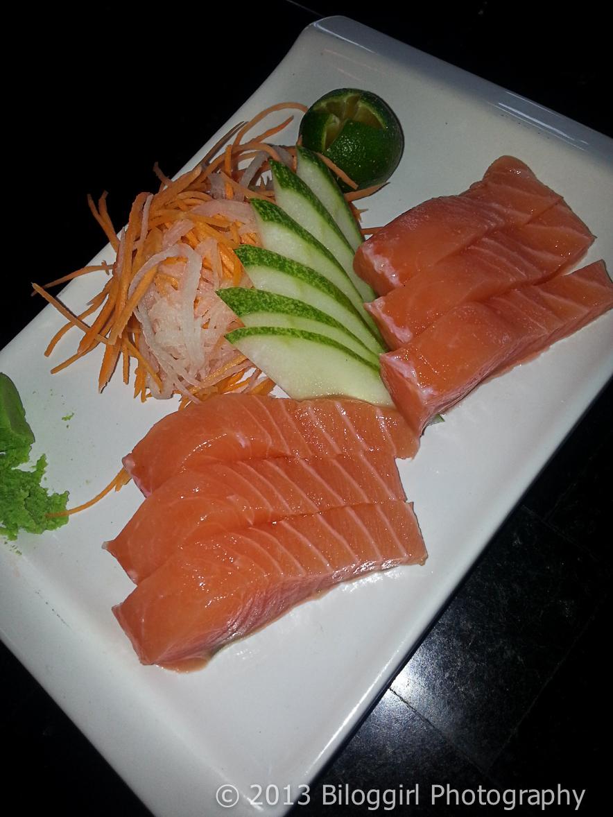Tsuru Sashimi Salmon