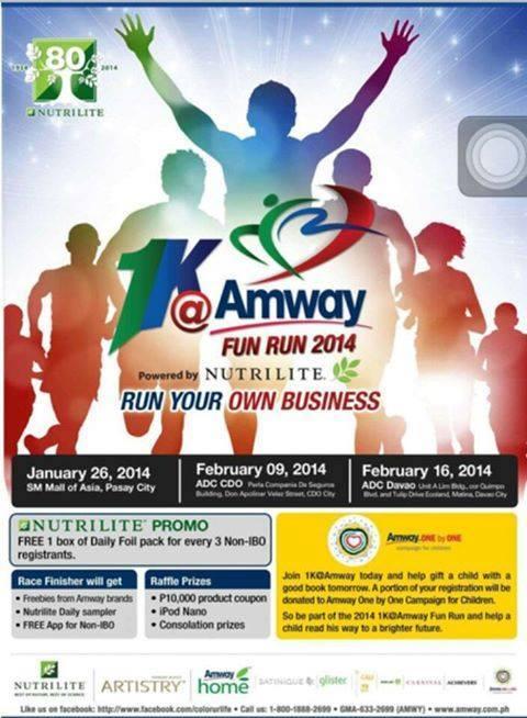 1K Amway Fun Run 2014