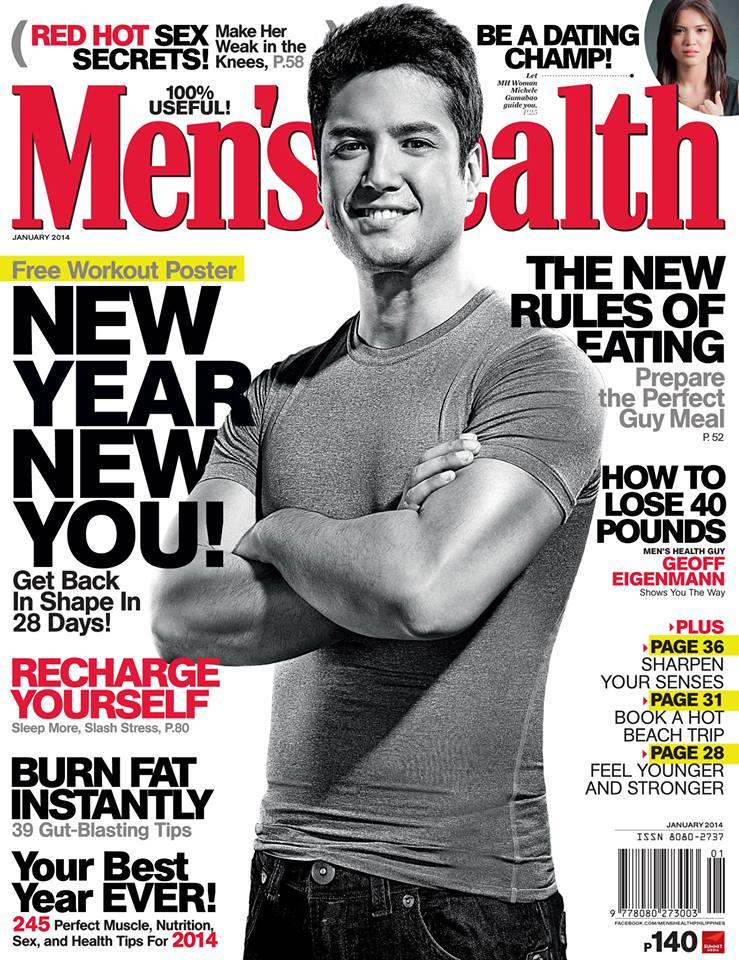 Men's Health Philippines - January 2014 - Geoff Eigenmann