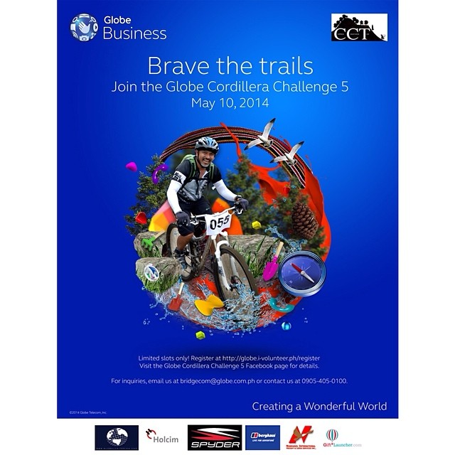 Brave the Trails - Globe Cordillera Challenge 5