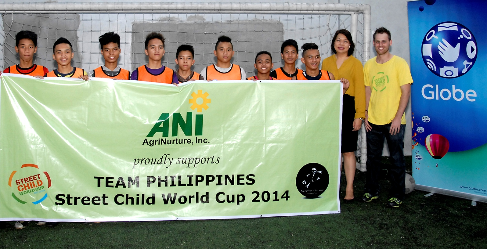 Globe Telecom supports Street Child World Cup