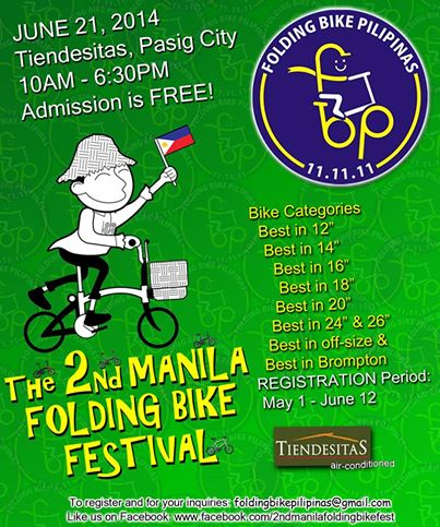 The 2nd Manila Folding Bike Festival