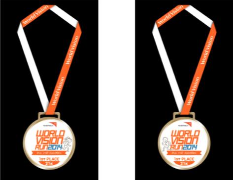 Winner's Medal.