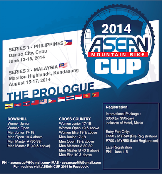 2014 ASEAN Mountain Bike Cup - Philippines