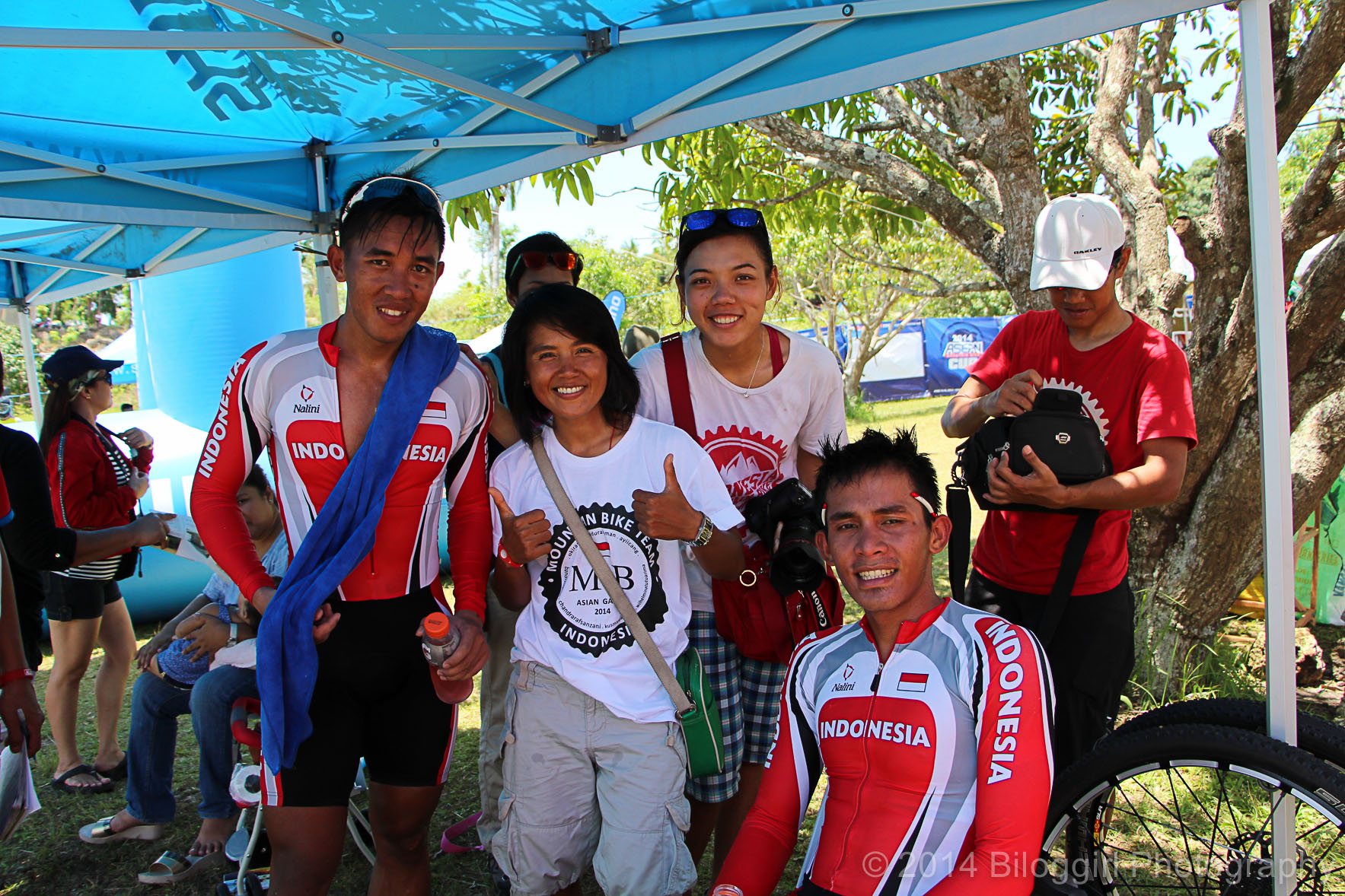 Team Indonesia MTB (Chandra, Kusmawati, Wilhelmina, Sugito)